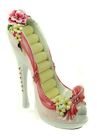 Подставка для колец туфелька своими руками
